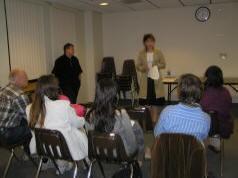 Intuitive Healing talk in Orlando, USA. 2010