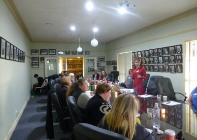 Intuitive Healing workshop in Wagga Wagga, NSW. August, 2015